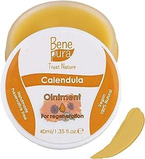 Pomada natural de caléndula 40 ml – extracto de aceite frío – 100% natural – cicatriza heridas moretones quemaduras – co...