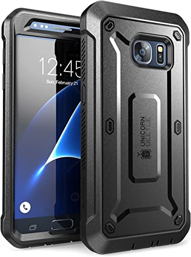 SUPCASE Unicorn Beetle Pro Series Case Designed for Galaxy S7, with Built-In Screen Protector Full-body Rugged Holste...