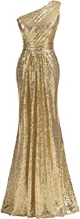 Women's Sequins Mermaid Prom Dress Strapless Wedding Party Evening Dresses