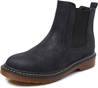 Lady¡¯s Chelsea Ankle Boot Classic Chunky Heel Elastic U Gusset Shoes