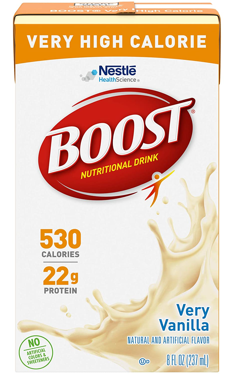 BOOST VHC-Flavor Vanilla Calories Discount Max 51% OFF mail order 530 237 Packaging 8 fl mL oz