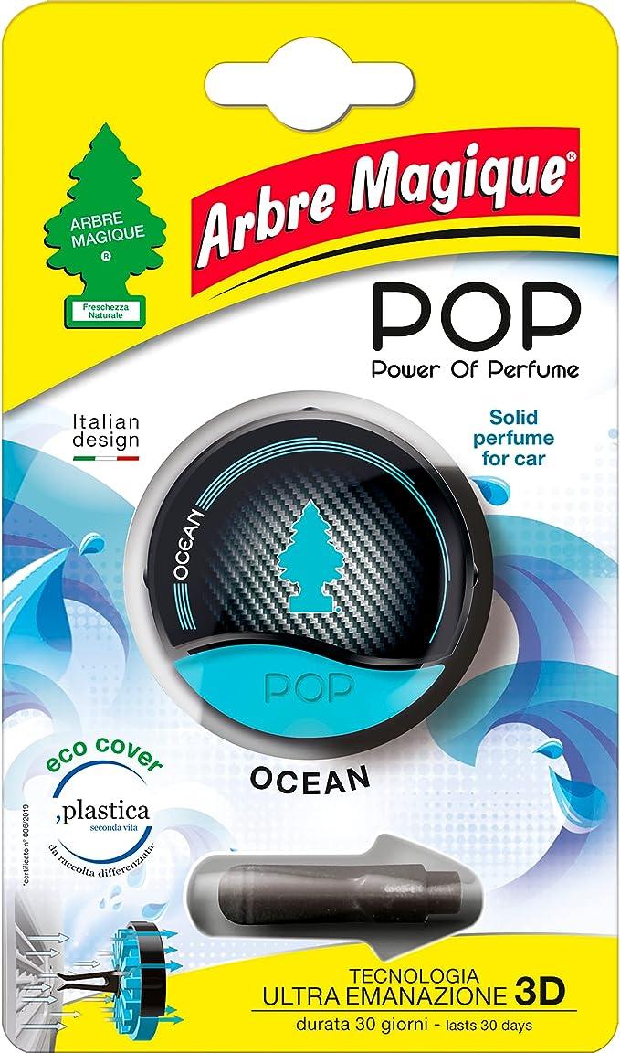 380 opinioni per Arbre Magique POP, Profumatore Auto Solido, Fragranza Ocean, Profumazione