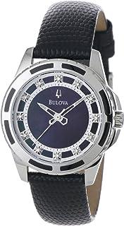 Bulova - 98P118 – Reloj de Pulsera de Mujer, Correa de Acero Inoxidable
