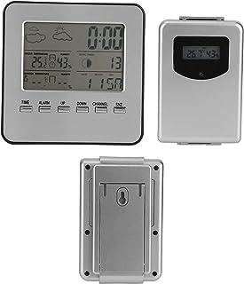 Temperaturfuktighetsmätare, termometer Hygrometer Bred applikation Hög noggrannhet för väderrapport väckarklocka för mätni...