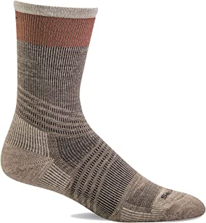 Sockwell Men's Summit Crew II Firm Graduated Compression Sock