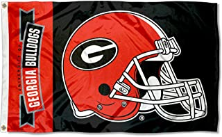 College Flags and Banners Co. University of Georgia Football Flag Large 3x5