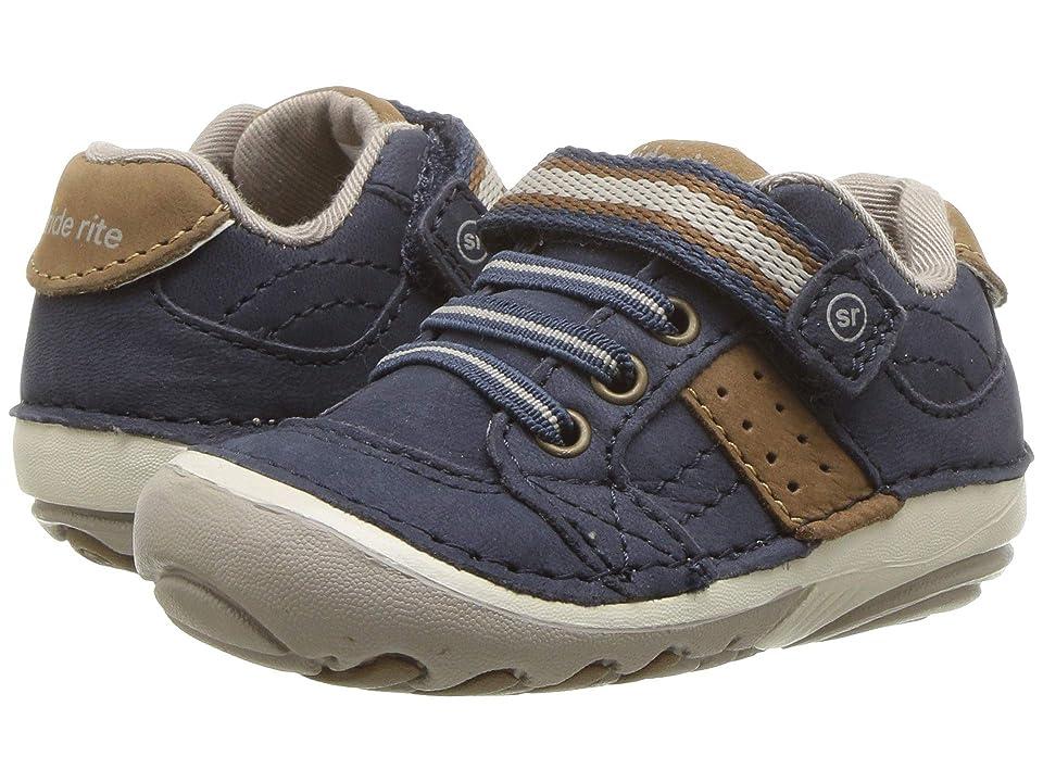 Stride Rite SRT SM Artie (Infant/Toddler) (Navy) Boys Shoes