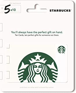 starbucks gift card 5 dollars
