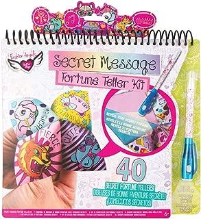 Fashion Angels 12196 Secret Message Fortune Teller Portfolio, Multicolor