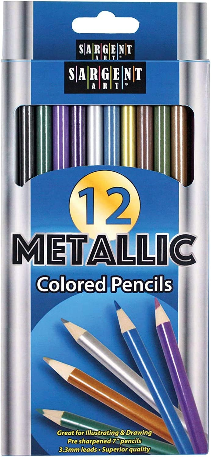 Metallic Colored Max 76% 2021 spring and summer new OFF Pencils Assorted