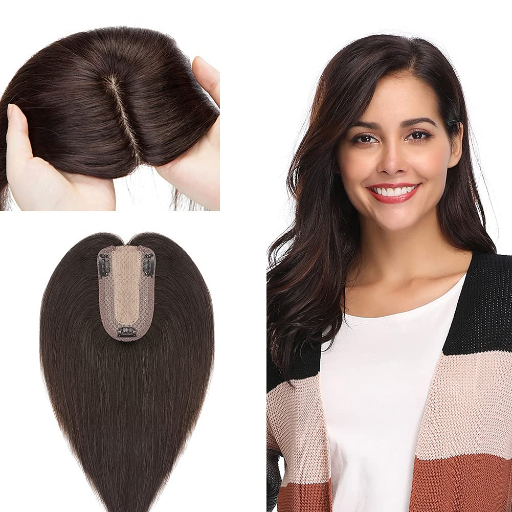 Clip in Translated Topper for Women Upgraded Human Hair Remy 120% S Density Max 52% OFF