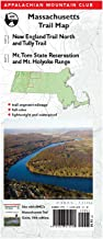 AMC Massachusetts Trail Maps 4–5: New England Trail North and Tully Trail and Mt. Tom State Reservation and Mt. Holyoke Range: Tully-Mt. Tom State ... Mountain Club Massachusetts Trail Map)