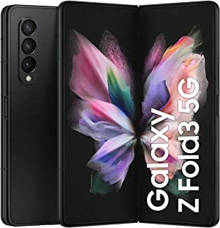 SAMSUNG Galaxy Z Fold3 5G Dual SIM and eSIM Smartphone, 256GB Storage and 12GB RAM, Phantom Black