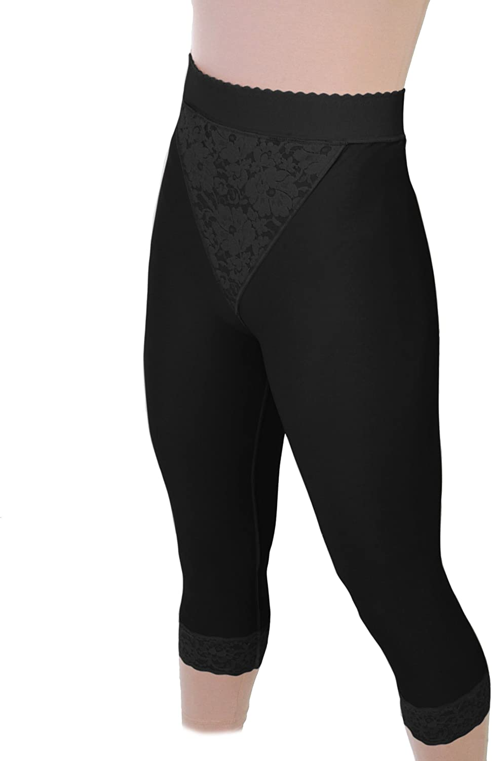 Weekly update 2nd Stage Compression Girdle Black Dallas Mall Cr Shapewear Mid-Calf Closed
