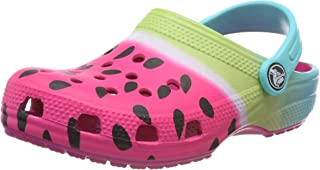 Crocs Unisex Kids Classic Ombre Graphic Clog