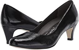 Black Tumbled Patent