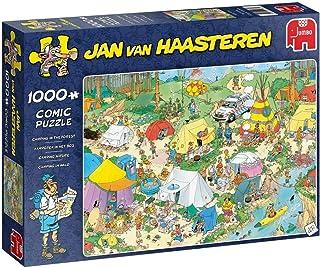Jumbo 19086 Puzzel Jvh: Kamperen In Het Bos 1000 Stukjes