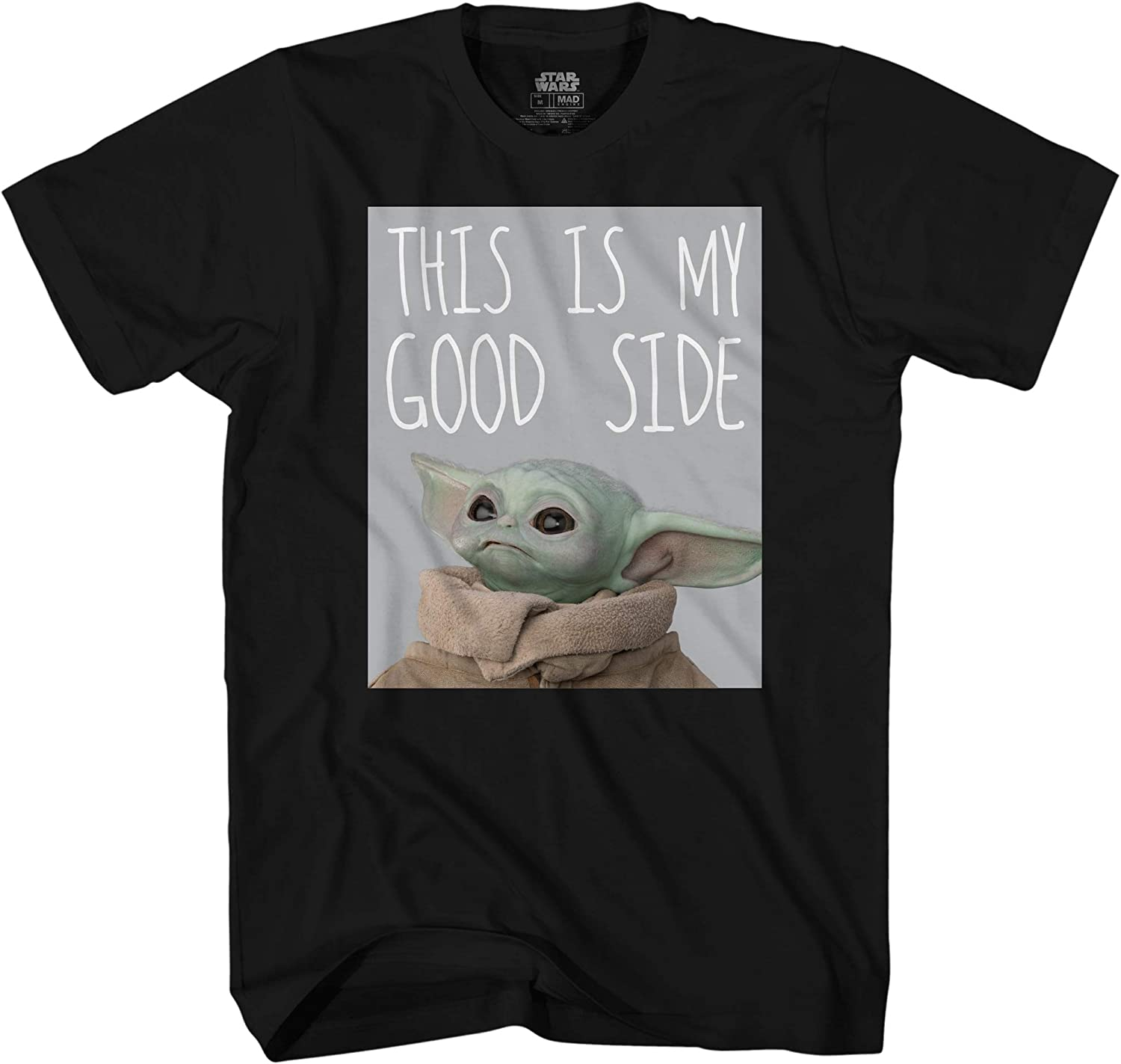 STAR WARS The Mandalorian The Child This is My Good Side Baby Yoda T-Shirt
