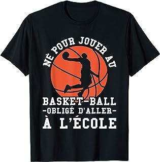 Drôle Cadeau Basketball Graphique Garçon Avec Basket-Ball T-Shirt