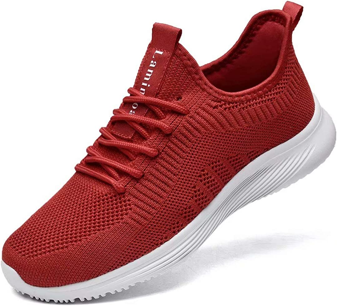 Lamincoa Womens Walking Shoes Slip Lightweight Athletic Comfo Max 84% OFF On Boston Mall