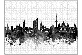 artboxONE Ravensburger-Puzzle XXL (1500 Teile) Städte Leipz
