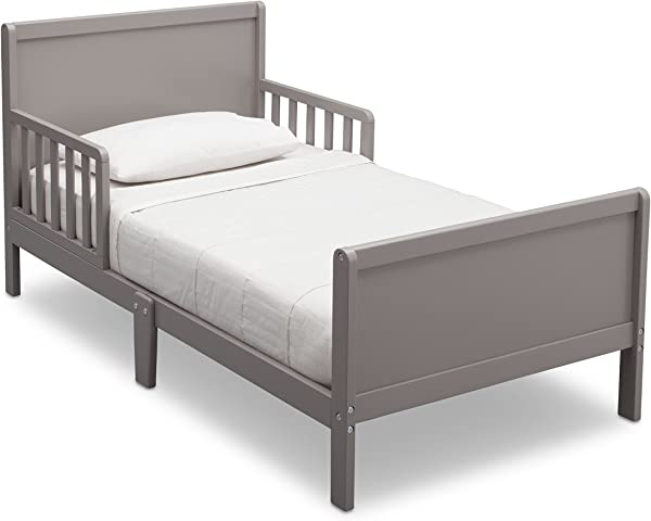 Delta Children Fancy Toddler Bed Grey