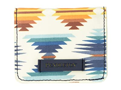 Pendleton Canopy Canvas Snap Wallet (Falcon Cove Sunset) Handbags