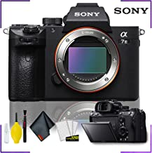 Sony Alpha a7 III Mirrorless Digital Camera (Body Only) with Camera Cleaning Kit Bundle