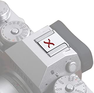 VKO Nakładka ochronna na gorące buty na aparat kompatybilna z Fujifilm X-S10 XH1 XPro3 XPro2 XT4 XT3 XT2 XT30 XT20 XE3 XE2...