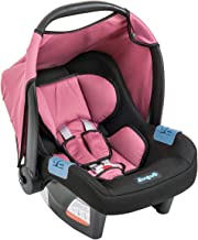 Bebê Conforto Touring Evolution SE, Burigotto, Preto e Rosa