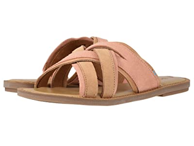 TOMS Val (Coral Pink Suede) Women