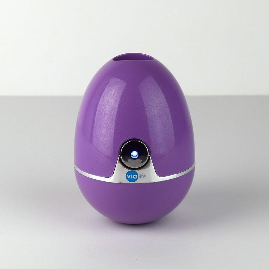 伝統的ビジター休戦VIOlife Style Zapi Luxe UV Toothbrush Sanitizer, Purple/Lavender, 6.3 Ounce