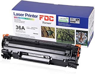 FDC Toner CB436A 36A Toner Cartridge Compatible for HP LaserJet M1522n M1522nf MFP P1505 P1505n M1120 M1120n Printers Toner 2,000 Pages Yield 1 Black