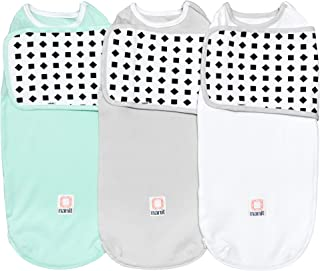 Nanit Breathing Wear Swaddle 3pk - Size Large, 3-6 Months - Multi