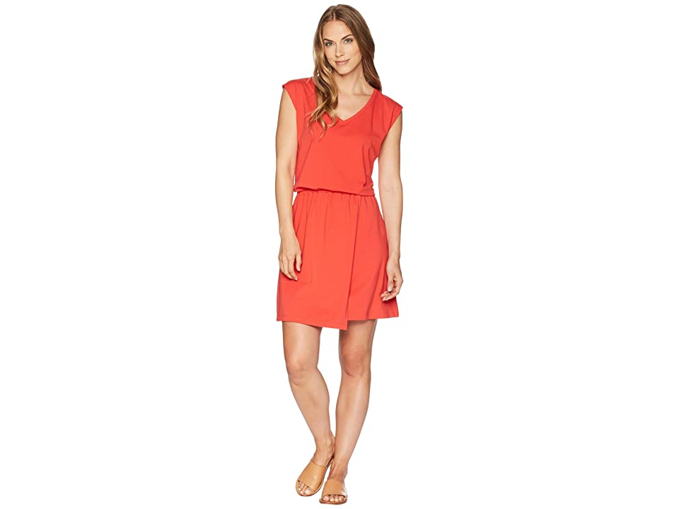 NAU Wrapture Dress (Cayenne) Women