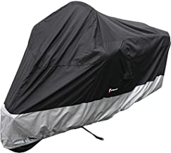 Deluxe all season Motorcycle cover (XXL) Black. Fits up to 108