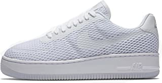 nike womens AF1 air force 1 low upstep BR trainers 833123 sneakers shoes (US 10, white white 100)