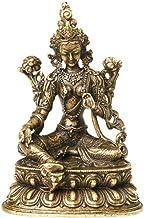 Aprox 5.5CM Height Green Tara Small Copper Statues Tantric Statues Buddha Statue Buddhism Buddhist Figure Figurine Desktop