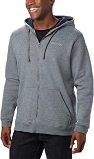 Columbia Men's Hart Mountain Full Zip Hoodie, Cotton Blend