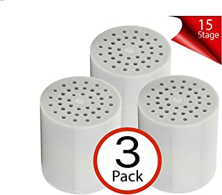 Cali Tropical Rain 15 Stage Shower Filter Replacement Cartridge - 3 pack