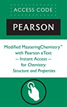 Modified MasteringChemistry® with Pearson eText -- Instant Access -- for Chemistry: Structure and Properties