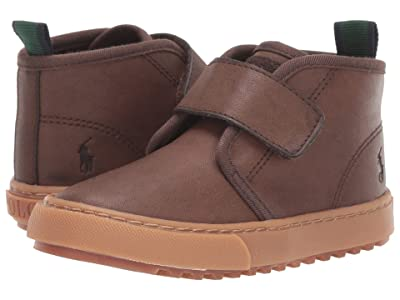 Polo Ralph Lauren Kids Chett EZ (Toddler) (Chocolate Burnished) Kids Shoes