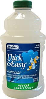 Thick & Easy Thickened Water with Natural Lemon Flavor, Nectar Consistency - Sold by (6)-48oz Bottles