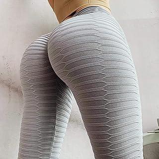 Summer 3D Mesh Yoga Pants Leggings Women s Sport Pants Seamless Sportswear Pants for Women Makfacp (Color : Gray, Size : M...