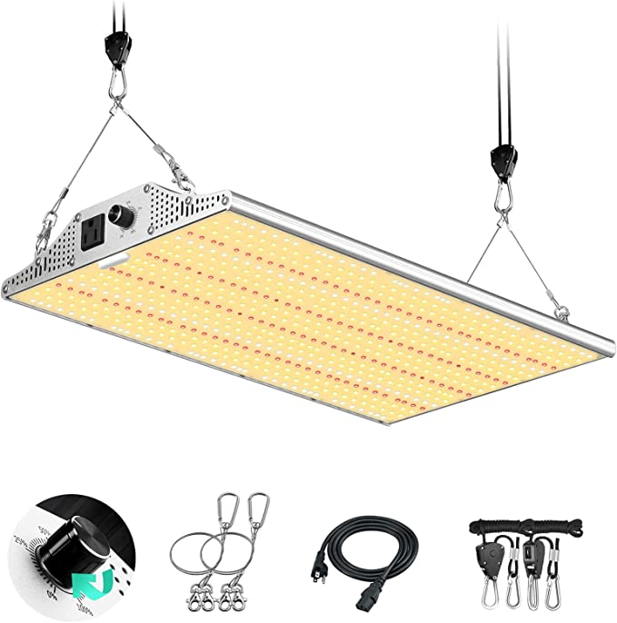 Amazon Com Yehsence Y2000 Led Grow Light 4x4ft Coverage Upgraded Daisy Chain Grow Lights For Seed Starting Dimmable Full Spectrum Plant Grow Lamps For Indoor Plants Veg And Flower With 648pcs Leds