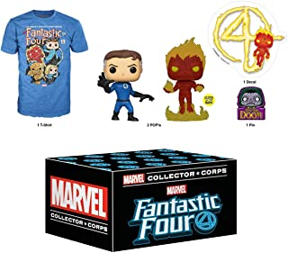 Funko Marvel Collector Corps Subscription Box, Fantastic Four - XS, January 2020