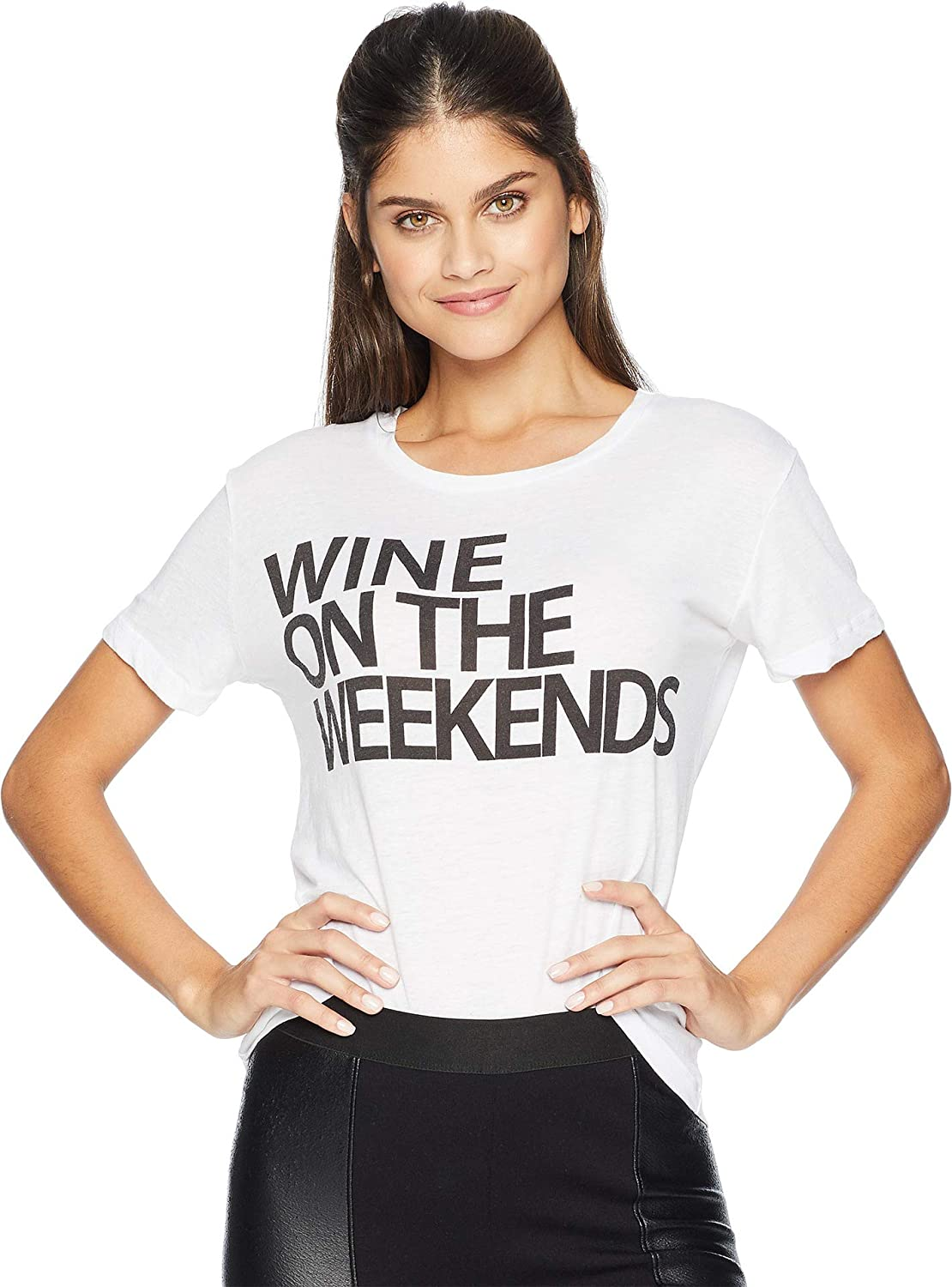 CHASER Wine On The Weekend Vintage Jersey Tee