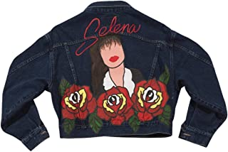 Hand Painted Selena Denim Jacket