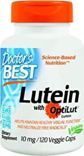 Doctor's Best Lutein with OptiLut 10 mg