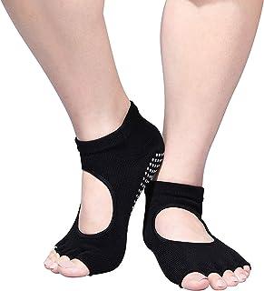 Yoga Socks for Women - Pilates Socks Non Slip House Fitness Athletic Socks for Barre Dance hospital Safety Socks